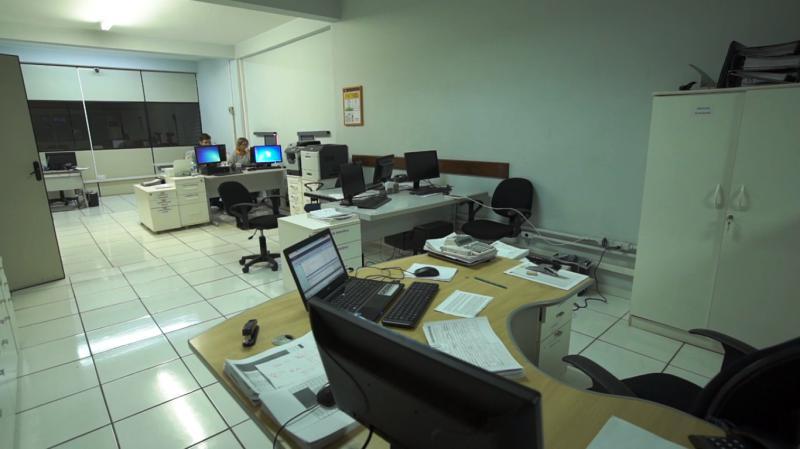 Escritórios e salas de reunião